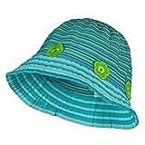 Jeanne Simmons Girl's Flower Accent Bucket Hat - Blue OSFM