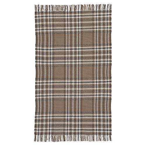 Ashley Furniture Signature Design - Hardy Large 8' x 10' Rug - Contemporary - Plaid Brown