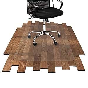 Officemarshal protector de suelo para silla alfombra - Suelo de policarbonato ...