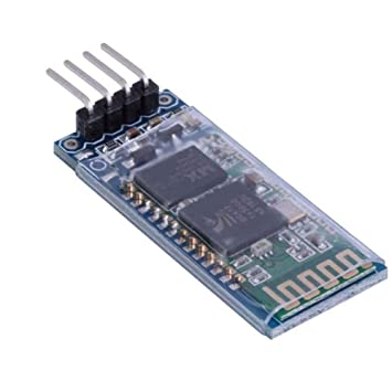 HC-06 4 Pin Wireless Serial RS232 Bluetooth RF Transceiver Module With backplane