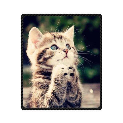 Custom Cute Kitten Kitty Cat Animals Super Soft Warm Fleece Throw Blanket 50
