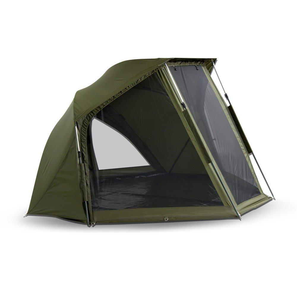 Winterskin//Shelter with Overwrap//Angelzelt//Karpfenzelt Lucx/® Wiesel Schirmzelt 10.000mm Wassers/äule /Überwurf//Brolly incl