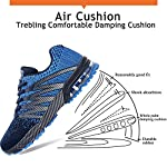 Axcone Homme Femme Air Running Baskets Chaussures Outdoor Running Gym Fitness Sport Sneakers Style Multicolore… 9