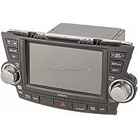 Reman OEM In-Dash Navigation Unit For Toyota Highlander 2011 2012 2013 - BuyAutoParts 18-60412R Remanufactured