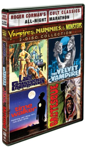 (Vampires, Mummies And Monsters Collection: Roger Corman Cult Classics (Lady Frankenstein, Time Walker, The Velvet Vampire & Grotesque))