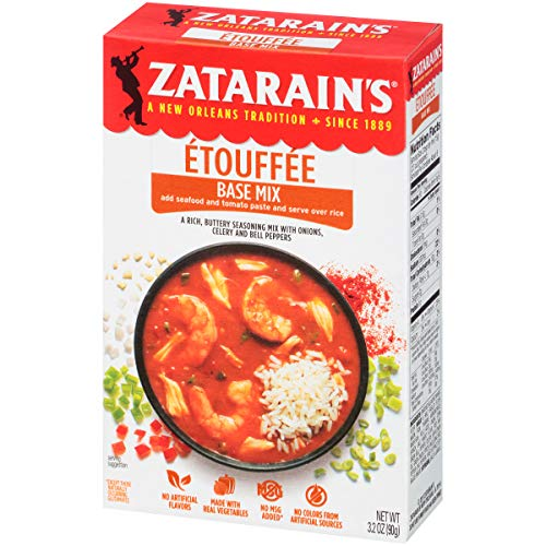 Crawfish Etouffee - Zatarain's Etouffee Base, 3.2 oz (Pack of 12)