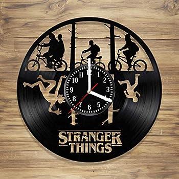Amazon Com Stranger Things Vinyl Record Wall Clock