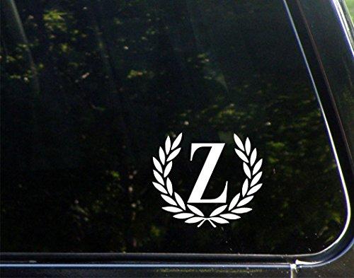 Letter Z, SMALL SIZE, Decorative Monogram - 4-1/2
