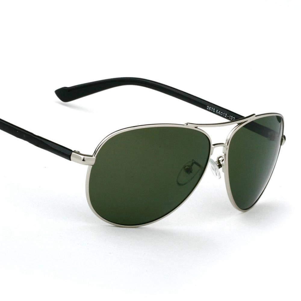 AnSuu Men Al-Mg Polarized Sunglasses Fishing Driver Outdoor Travel Beach Visor Special Uv-Proof Sunglasses
