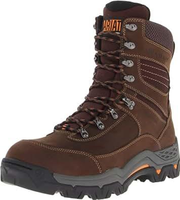 "Ariat Men's Workhog Trek 8"" H2O Work Boot, Oily Distressed Brown, 7 M US"