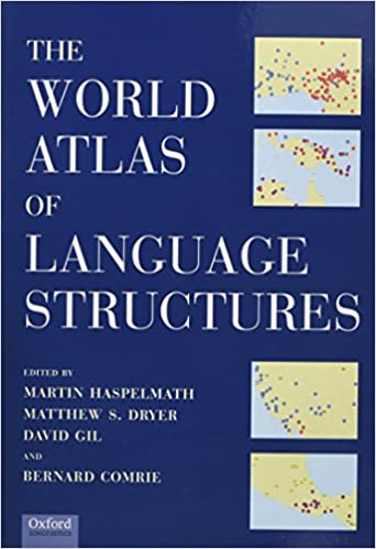 The World Atlas Of Language Structures Martin Haspelmath Matthew - World atlas of languages