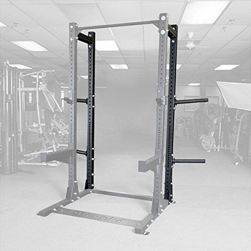 Body-Solid SPR500HALFBACK Rear Extension with 4 Weight Horns for SPR500 by GymBasis