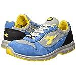 Diadora-Run-Textile-Low-S1P-Scarpe-da-lavoro-Unisex-adulto-SRC-Blu-Blu-CieloGrigio-Alluminio-48-EU-13-UK