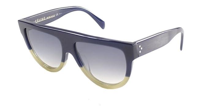 7cb47f1924412 Amazon.com  Authentic Celine CL 41026 S FV6 Blue Sunglasses  Clothing