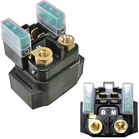 High Quality Starter Relay Solenoid Yamaha 400 YFM400 Big Bear 2000 2001 2002 2003 2004 2005 2006 2007 2008 (Smart Parts Solenoid)