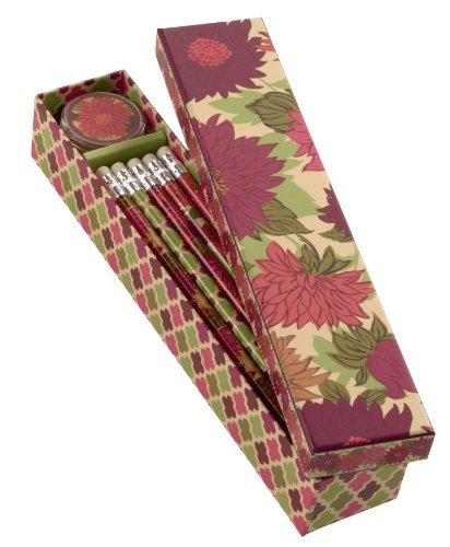 Vera Bradley Pencil Box in Hello Dahlia!