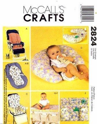 Amazon.com: McCall s patrón de costura para 2824 bebés ...