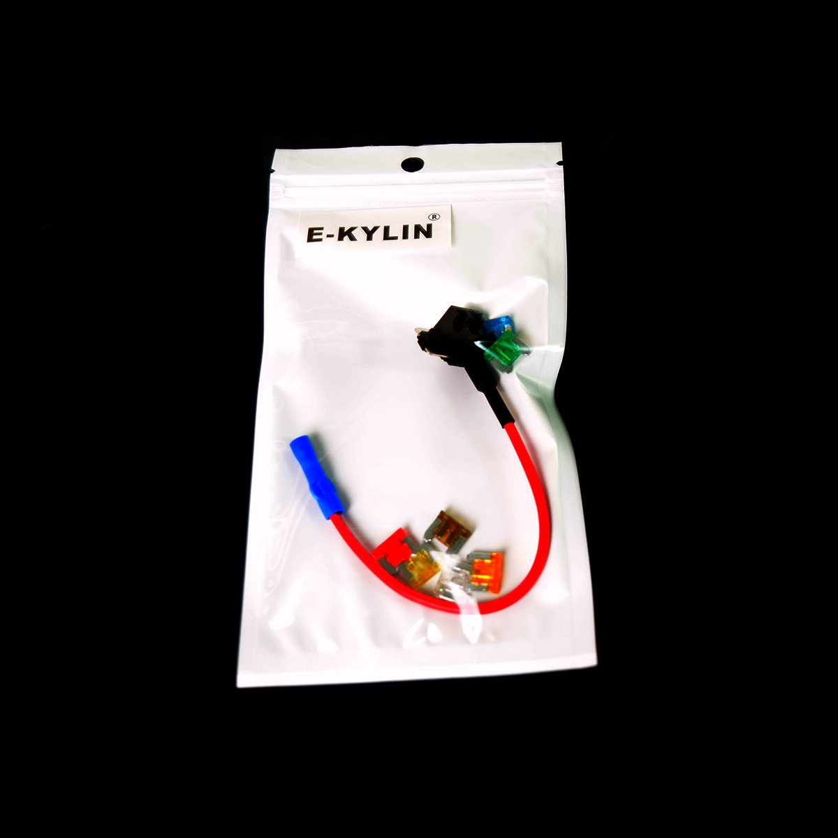 E Kylin Car Motor Add Circuit Blade Style Fuse Adapter Cable A Atm Low Profile Mini Holder Tap