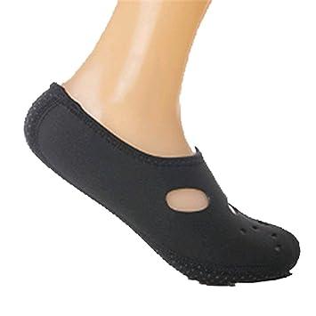 VWH 3 mm Calcetines o zapatillas de natación, buceo o surf para la playa o casa.: Amazon.es: Deportes y aire libre
