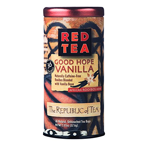 The Republic of Tea, Good Hope Vanilla Red Tea, No Caffeine, 36 Tea Bags