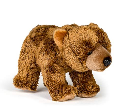 Wildlife Tree 12 Inch Grizzly Bear Stuffed Animal Floppy - Bear Cub Animal Stuffed