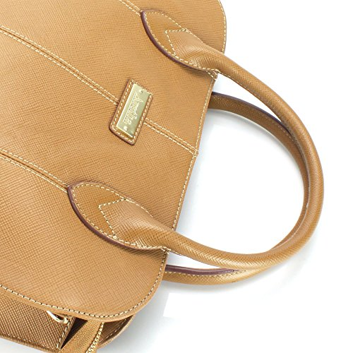 Handbag Handle aretha 141330 cka Satchel Cowhide Top Genuine Leather fwqxqH6aS