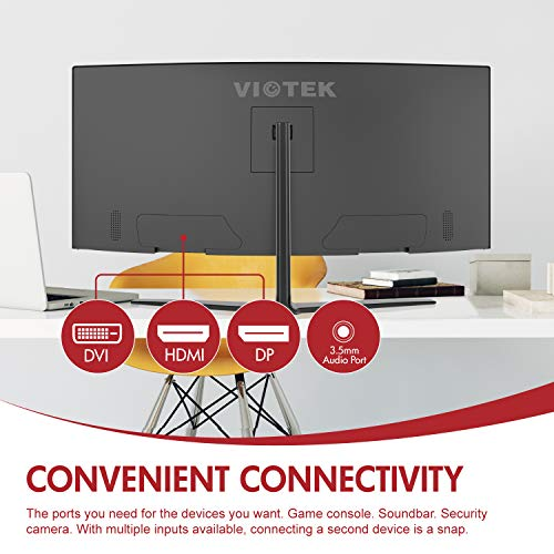 Viotek GN34CW 21:9 Ultrawide QHD and Monitor, 100Hz 1440p, FTS/RTS VESA