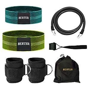 BERTER Resistance Bands Set, Booty...