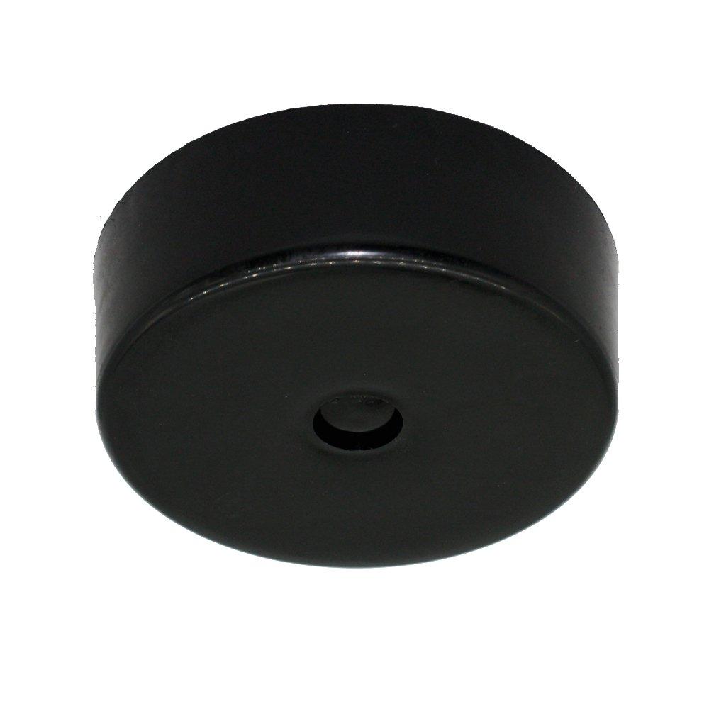 montage en saillie Boitier de raccordement /Ø 74 x 25 mm Bo/îte de d/érivation en plastique avec accessoires noir