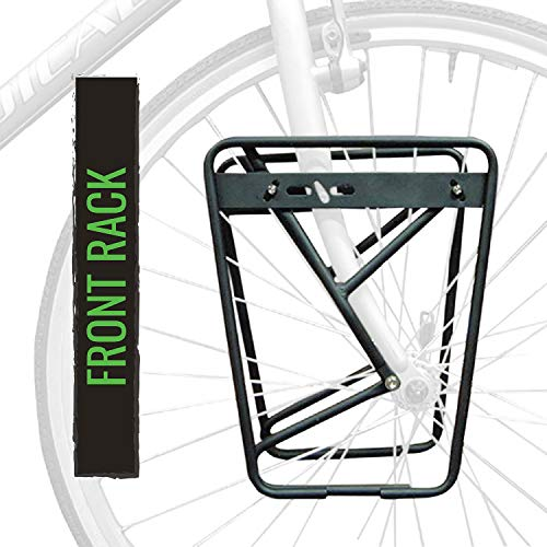 """AXIOM RACK JOURNEY DLX LOWRIDR FORK MOUNTED PANNIER RACK Fit 26-29/"""" 700c"""