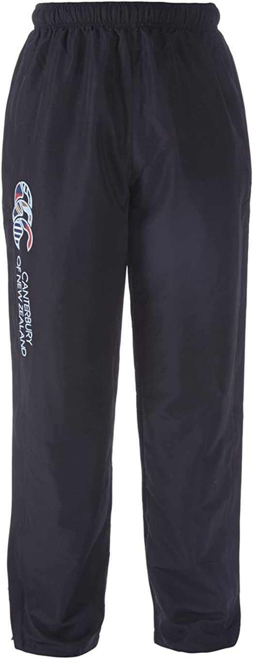 4XL New Canterbury Men/'s Tapered Cuffed Fleece Pants Black XL S