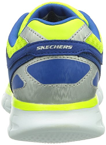 Skechers Synergy - Zapatillas de deporte, Niños Amarillo (Ylbl)