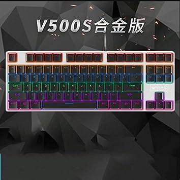 Td Lol Vert Axe Mecanique Clavier Retro Eclairage Clavier Ordinateur