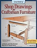 Great Book of Shop Drawings for Craftsman Furniture, Robert W. Lang, 1565238125