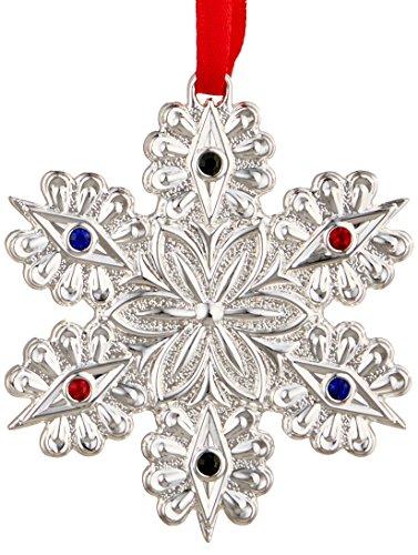 Lenox Jeweled Snowflake Ornament