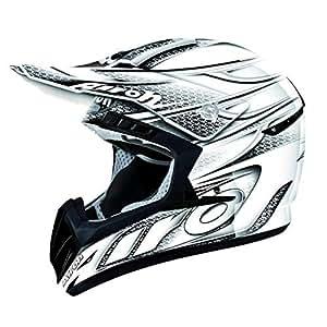 Airoh Helmet CR901 Linear White Gloss Medium