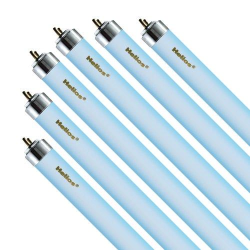 Helios 30-watt T6 Actinic O3 Light for Aquarium, 36-Inch, Blue, 6-Pack