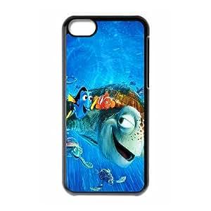 iPhone 5C Phone Case Funda Negro Buscando a Nemo de Disney Illust U1D3XK Incipio Fundas Caja del teléfono