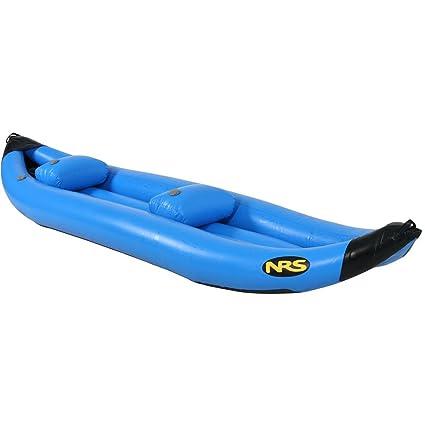 Amazon com : NRS MaverIK II Inflatable Kayak Blue, 12ft 6in