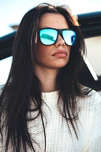 Naranja de TWIG hombre espejo Negro Gafas MAGRITTE sol degradadas mujer OqxU7