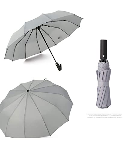45d923b56fb7 Amazon.com : GONGFF Wind Resistant Folding Automatic Umbrella Rain ...