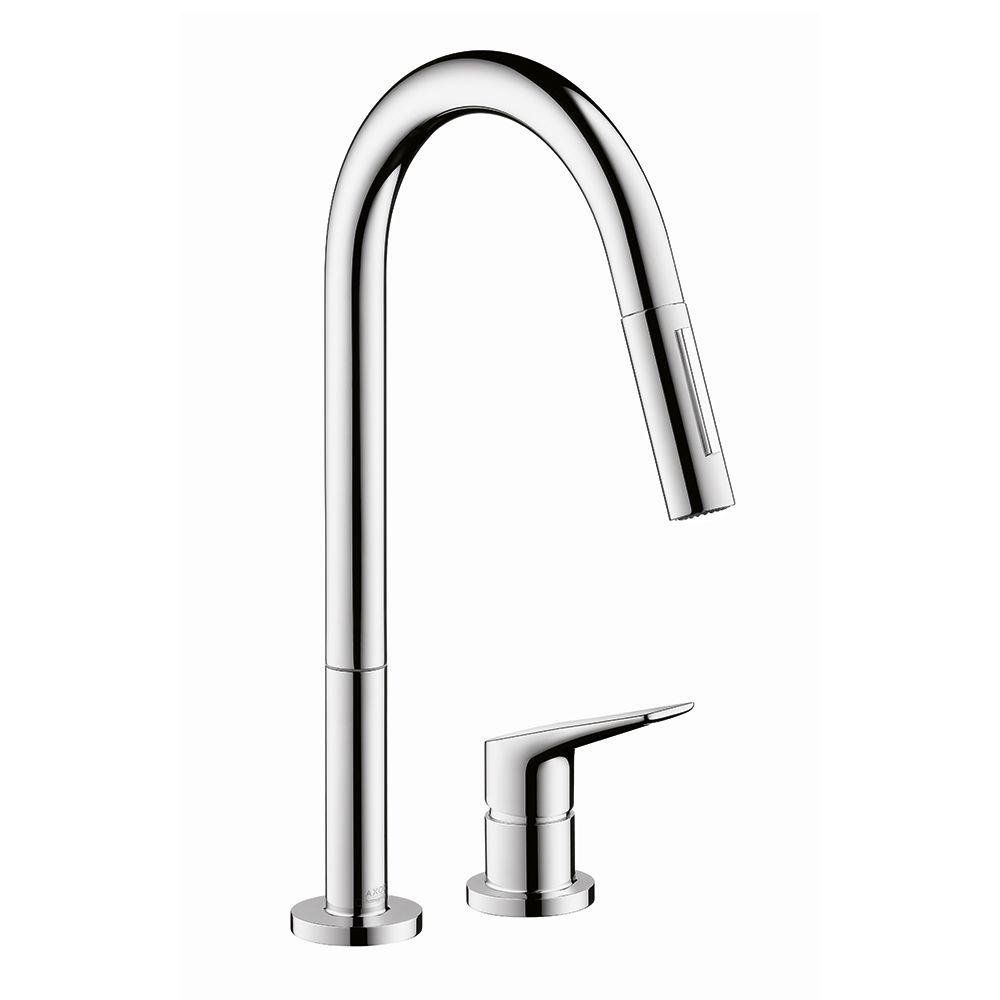 Hansgrohe 34822001 Citterio M Hole Kitchen Faucet, Chrome - Touch On ...