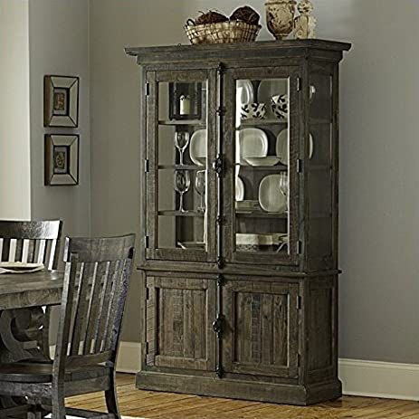 Amazon.com - Magnussen Bellamy Wood China Cabinet in Pine - China ...
