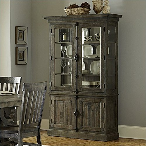 Amazon.com - Magnussen Bellamy Wood China Cabinet in Pine - China Cabinets