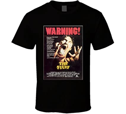 Amazon.com: the Stuff 80s Cult Classic Horror Movie T shirt: Clothing