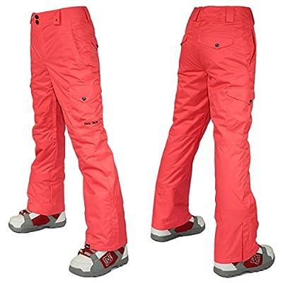 APTRO Women's High Windproof Waterproof Bright Color Ski Snowboarding Pants
