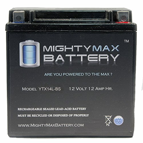 UPC 785123718734, Mighty Max Battery YTX14L-BS Battery for Harley-Davidson 883CC XL, XLH (Sportster) 2008 brand product