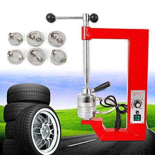 Tire Auto Repair Machine, Vulcanizer 110V Vulcanizing Machine Tire Spreader Tool for Light Truck and Car – Garage Equipment – RED – California Warehouse