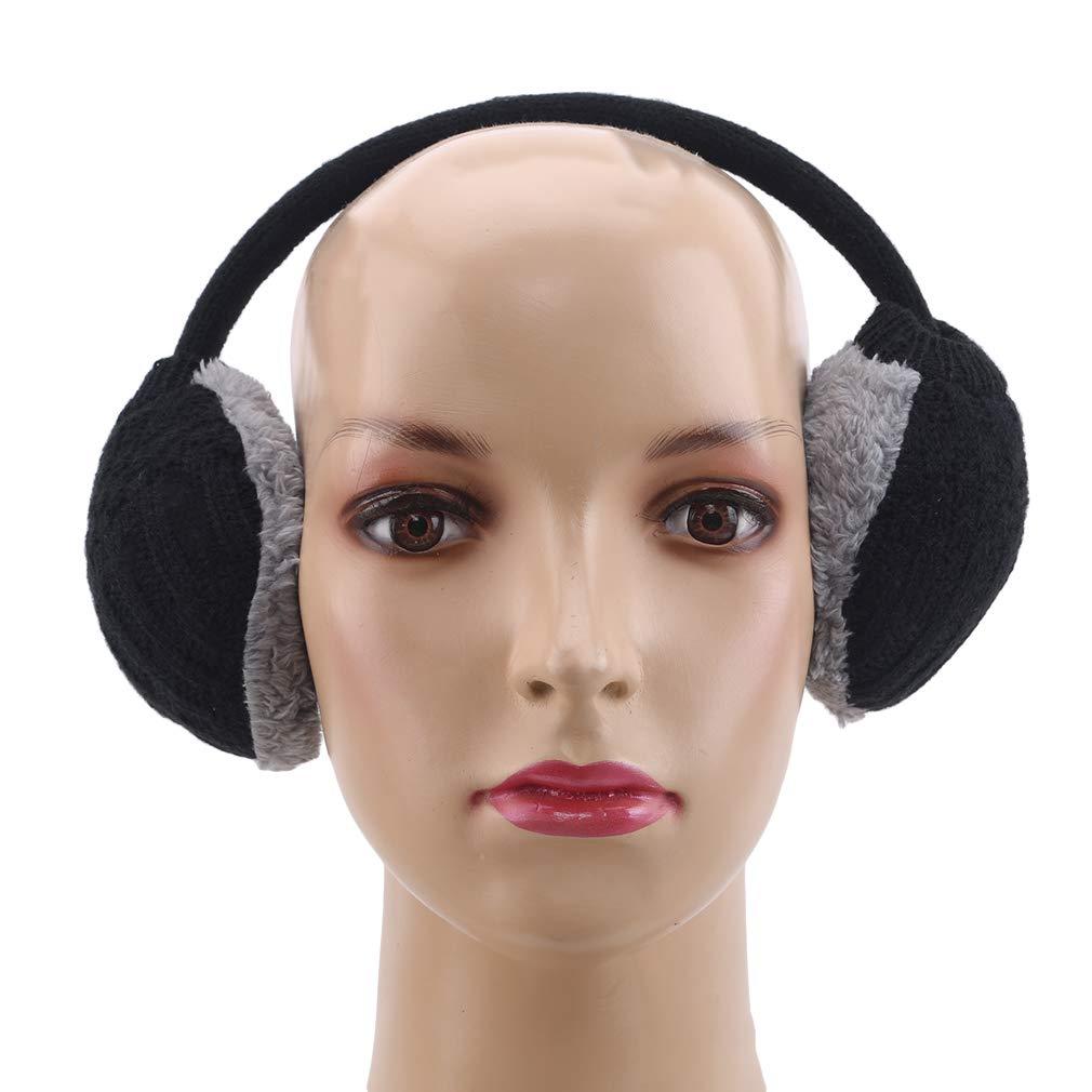 Lnlyin Winter Ear Cover Femmes Chaud Cache-Oreilles Tricot/és Cache-Oreilles Oreilles Femmes Filles,Rose