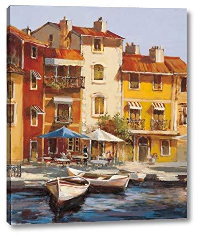 Mediterranean Waterfront II by Brent Heighton - 23